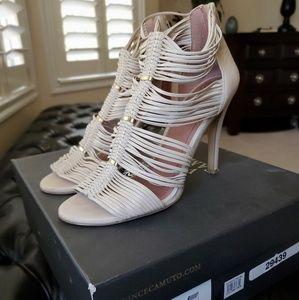 Vince Camuto Buttermilk Strappy High Heel Sandals